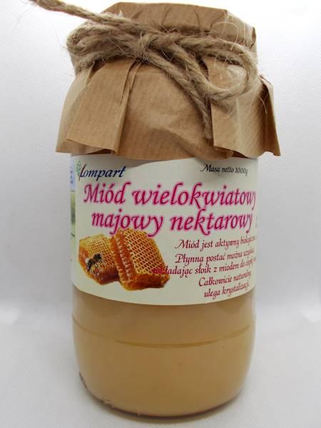 Miód wielokwiatowy majowy nektarowy 1000g