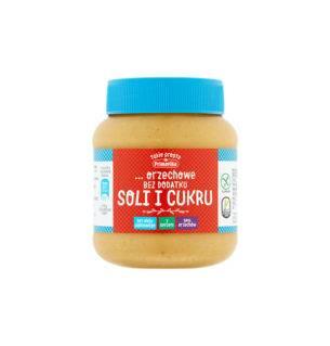 Masło orzechowe bez soli i cukru 350g Primavika