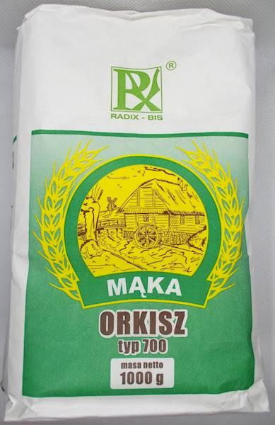 Mąka orkisz 1 kg typ 700 Radix-Bis