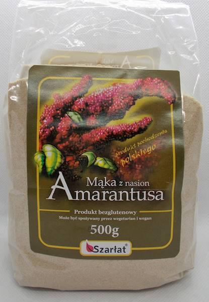 Mąka z amarantusa 500g Szarłat