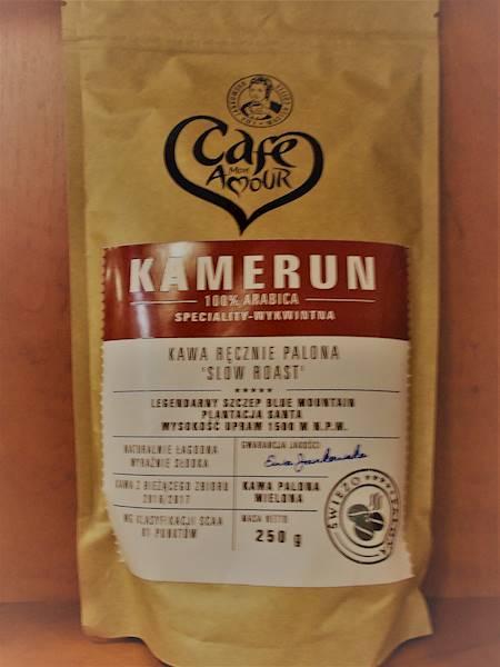 Kawa palona mielona arabica 100% Kamerun 250g Cafe