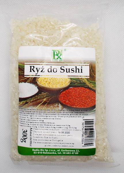 Ryż do sushi 300g Radix-Bis