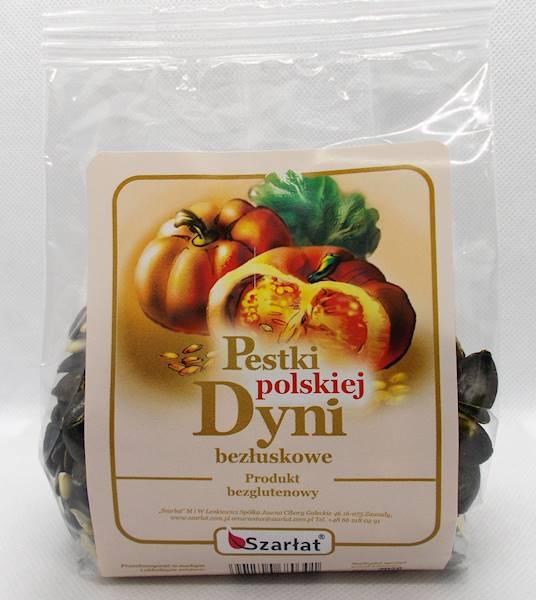 Pestki polskiej dyni bezłuskowe 200g Szarłat