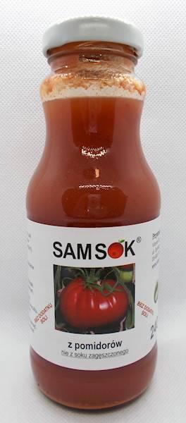 Sam sok z pomidorów bez soli 0,24l Viands