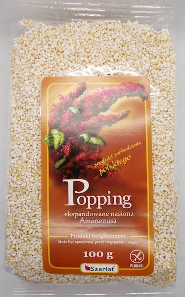 Popping amarantusowy-preparowane nasiona amarantus