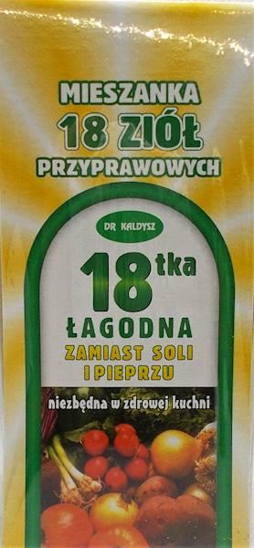 Przyprawa 18-tka łagodna zamiast soli i pieprzu 80