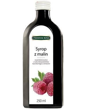 Syrop malinowy 0,25l Premium Rosa