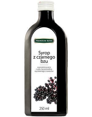 Syrop z czarnego bzu 250 ml Premium Rosa