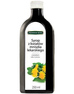 Syrop z kwiatów mniszka lekarskiego 250 ml Premium