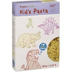 Makaron semolinowy dla dzieci dinozaury bio 300g