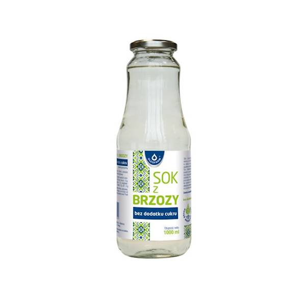 Sok z brzozy bez dodatku cukru 1l Oleofarm