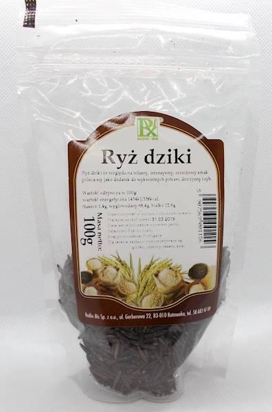 Ryż dziki 100g Radix-Bis