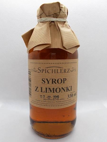 Syrop z limonki 330ml Spichlerz