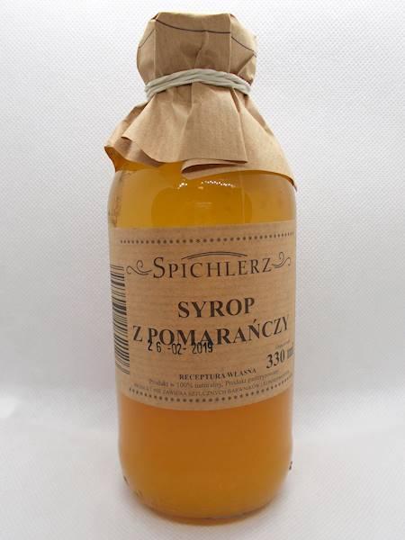 Syrop z pomarańczy 330ml Spichlerz
