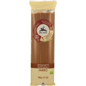 BIO Makaron orkiszowy razowy spaghetti 500g Alce N