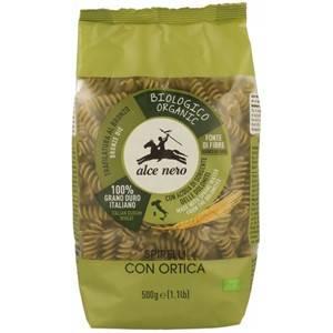 BIO Makaron semolinowy z pokrzywą spirelli 500g