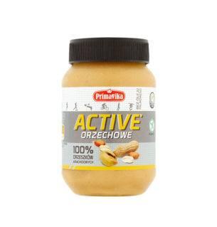Masło orzechowe ACTIVE 100% 470g Primavika