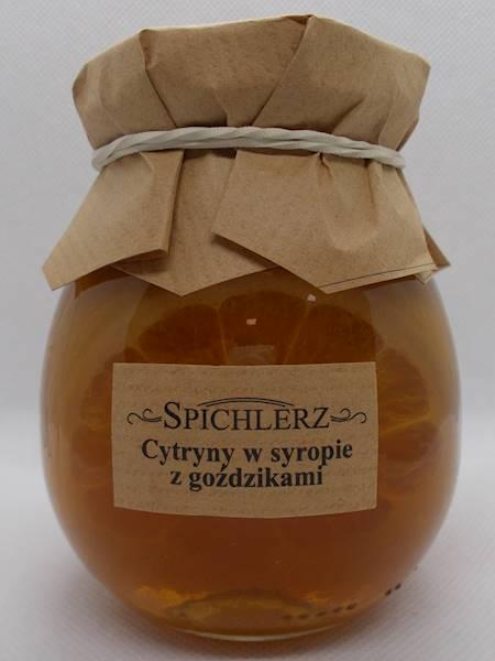Cytryny w syropie z goździkami 290g Spichlerz