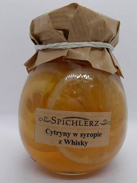 Cytryny w syropie z whisky 290g Spichlerz