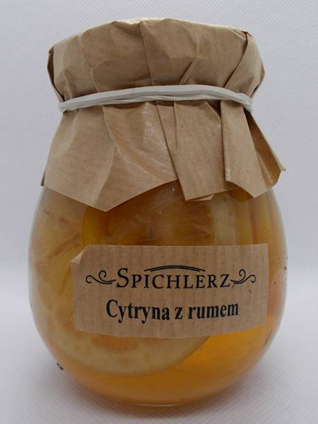 Cytryny w syropie z rumem 290g Spichlerz