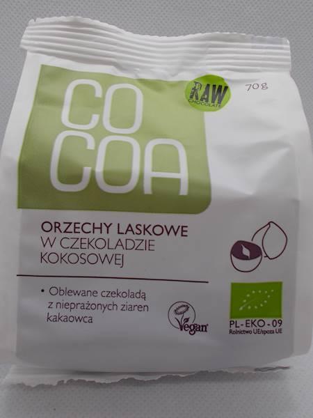 BIO Orzechy w czekoladzie kokosowej 70g Cocoa