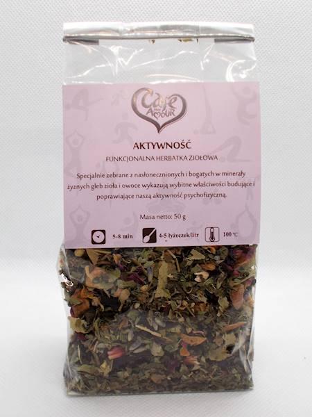Herbata ziołowa aktywność 50g Cafe Creator