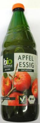 Bio ocet jabłkowy niefiltrowany 750ml Bio Zentrale