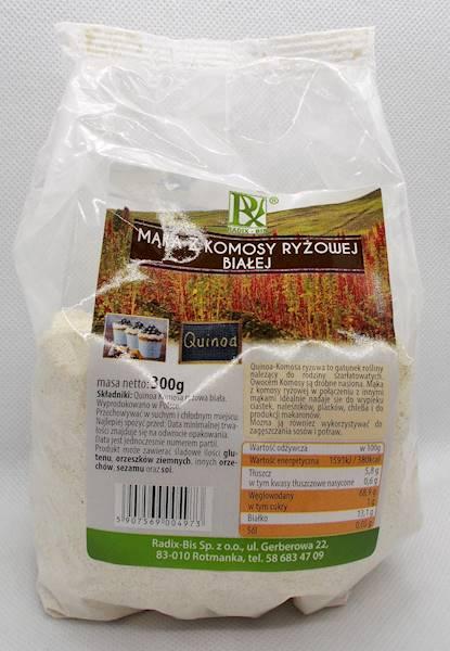 Mąka z komosy ryżowej białej 300g Radix-Bis