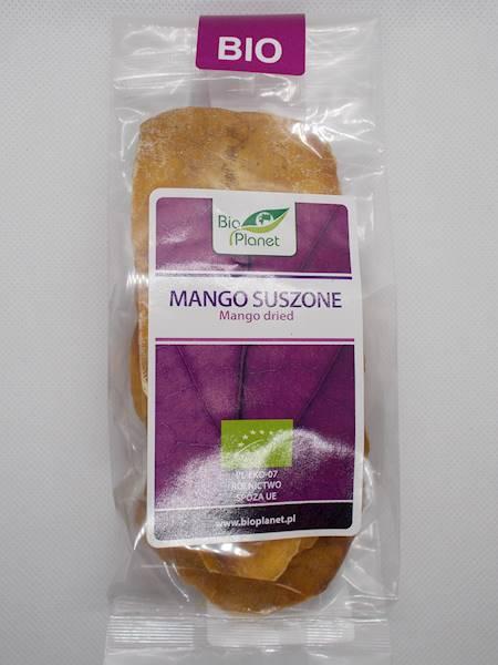 BIO Mango suszone 100g Bio Planet