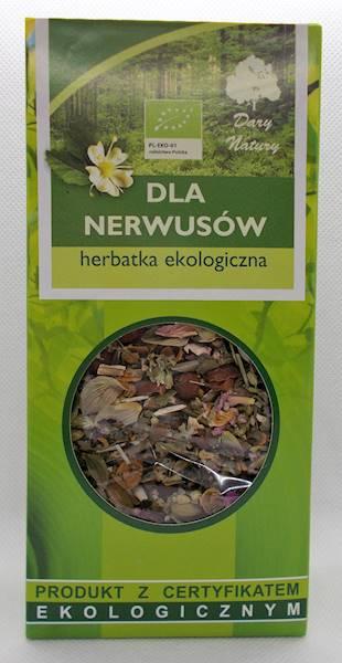 EKO Herbata dla nerwusów 50g Dary Natury