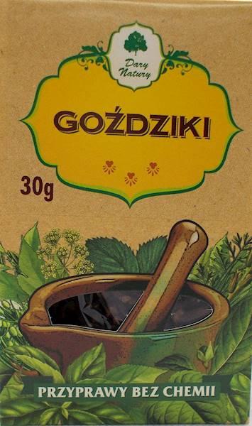 Goździki (kartonik) 30g Dary Natury