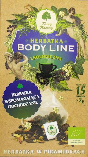 EKO Herbata Body Line 15x2g Dary Natury
