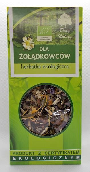 EKO Herbata dla żołądkowców 50g Dary Natury