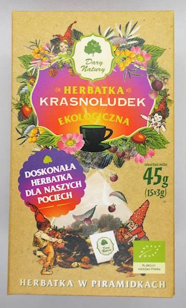 EKO Herbata Krasnoludek 15x3g Dary Natury