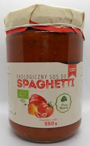 EKO Sos do spaghetti 550g Dary Natury