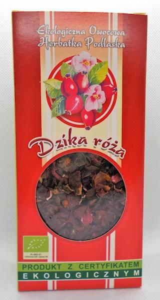 EKO Herbata Dzika róża 100g Dary Natury