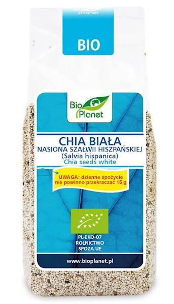 BIO Chia biała (Nasiona szałwi hiszpańskiej) 200g
