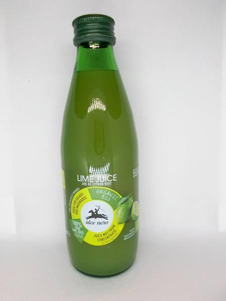 Bio sok z limonki z Sycylii 0,25l Alce Nero