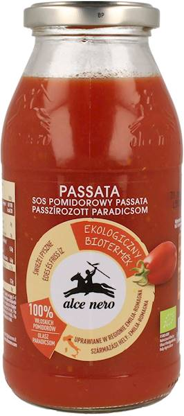 BIO Sos pomidorowy passata 500g Alce Nero