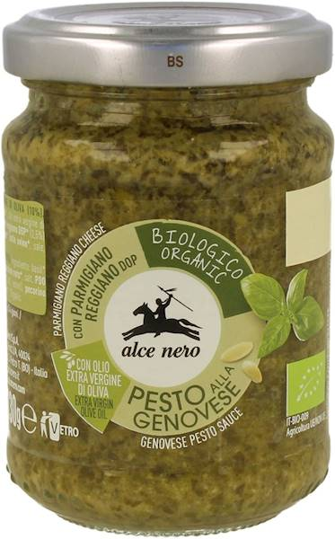 BIO Sos bazyliowy (Pesto Genovese) 130g Alce Nero