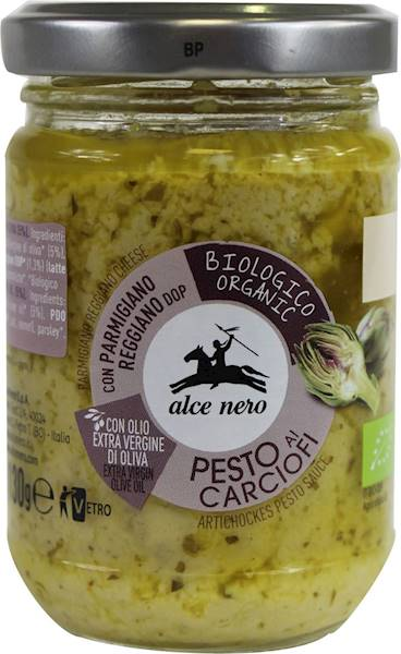 BIO Pesto z karczocha 130g Alce Nero