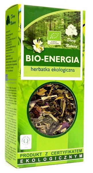 EKO Herbatka BIO-ENERGIA 50g Dary Natury