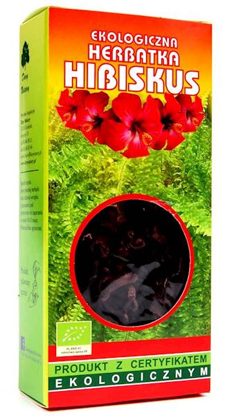 EKO Herbatka hibiskus 50g Dary Natury