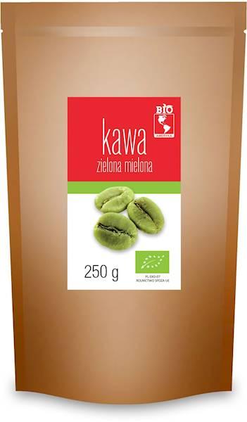 BIO Kawa zielona mielona 250g