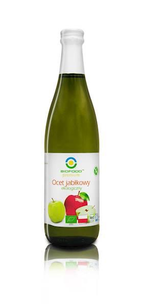 BIO Ocet jabłkowy niefiltrowany 500ml BioFood
