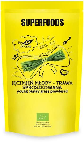 BIOJęczmień młody-trawa sproszkowana 125g BP