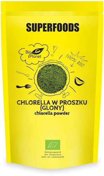BIO Chlorella w proszku (glony) 200g Bio Planet
