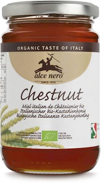 BIO Włoski miód z kasztanów 400g Alce Nero