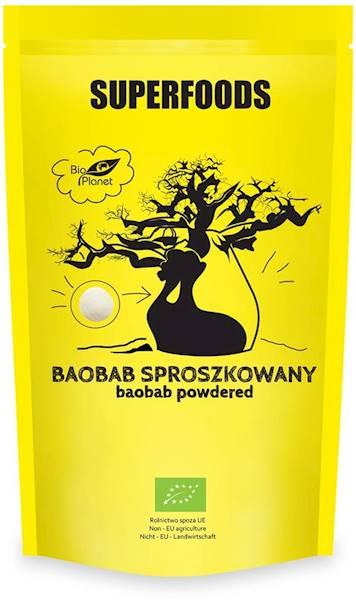 BIO Baobab sproszkowany 150g Bio Planet
