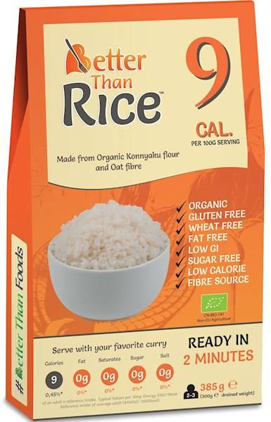 BIO Makaron konjac w kształcie ryżu b/glutenowy